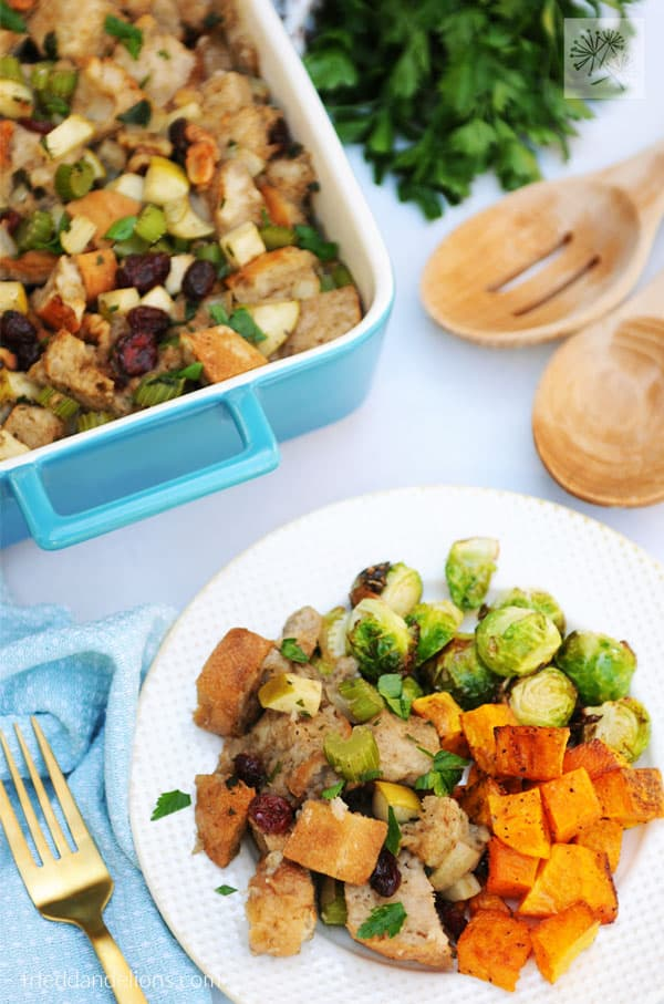 Traditional Vegan Stuffing for the Holidays
