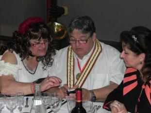 Grand Chapitre annuel de la commanderie du fromage St Nectaire, casino de St Nectaire, mai 2013
