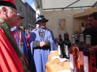 Foire aux vins et aux fromages, 25 juillet 2015, Besse - La commanderie du fromage Saint Nectaire
