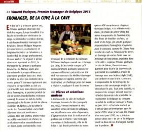 Profession Fromager - n° 64 - nov/dec 2014