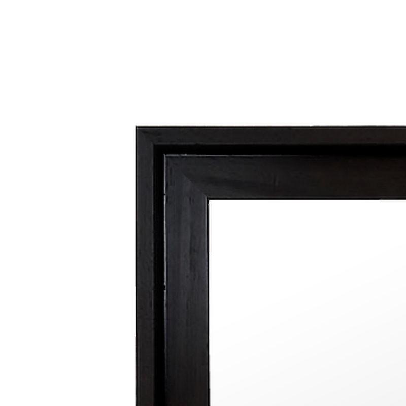 cadre avec profondeur format a2 noir