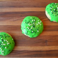 Soft Sugar Cookies for St. Patrick's Day