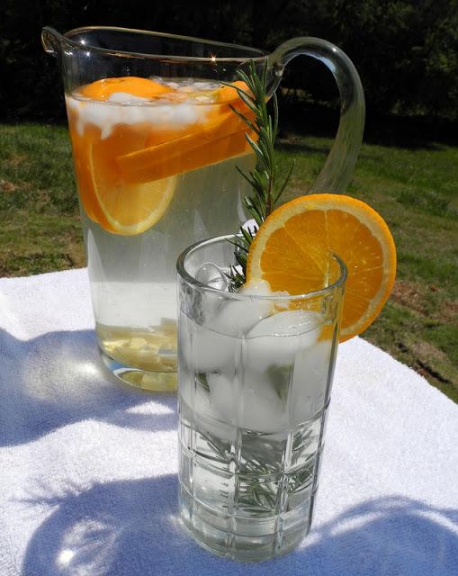 Orange Ginger Water