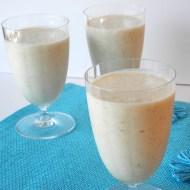 Pina Colada Oatmeal Smoothie for Breakfast Ideas Mondays
