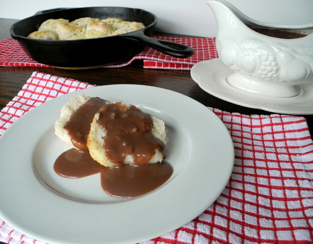 The Best Buttermilk Biscuits with Chocolate Gravy