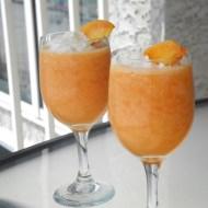 Beach Food Part 4: Non-Alcoholic Peach Daiquiris and Food Friends Friday