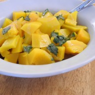Butternut Squash with Browned Butter Sage Sauce