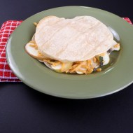 Cheddar Apple Quesadillas for the Daiya Vegan Challenge
