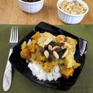 Freezable Slow Cooker Curry Chicken