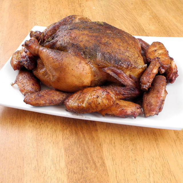 Smoked Chicken and Chicken Wings