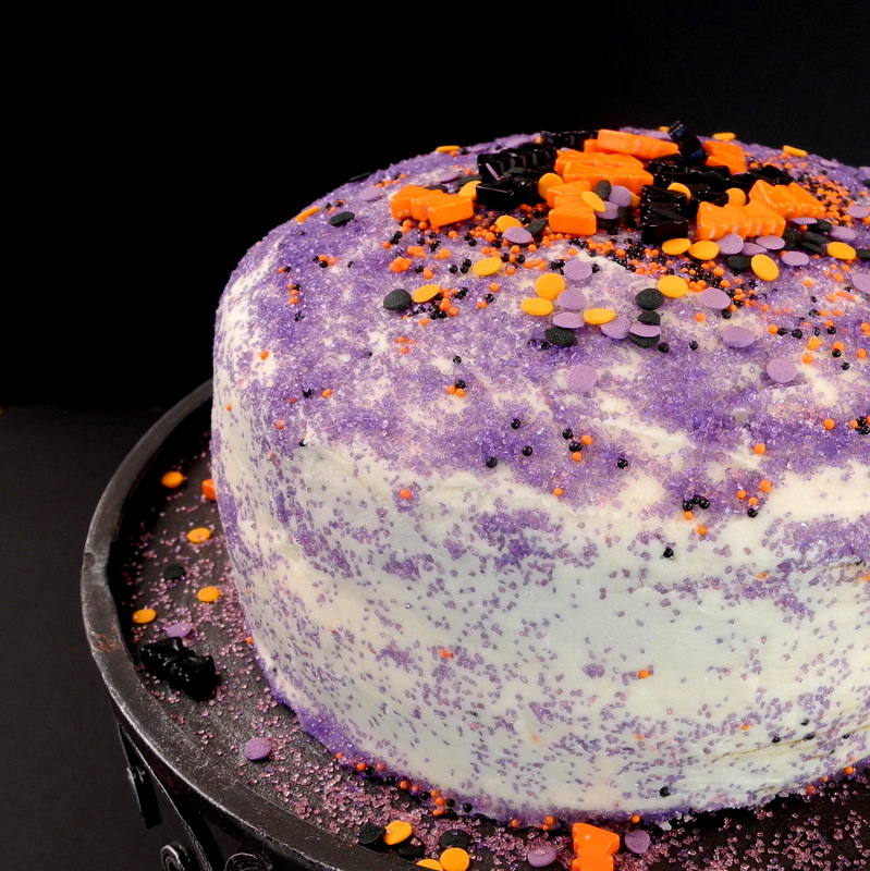 Pumpkin Cake with Browned Butter Cream Cheese Frosting