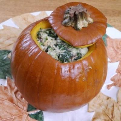 Thanksgiving Stuffed Pumpkin 2