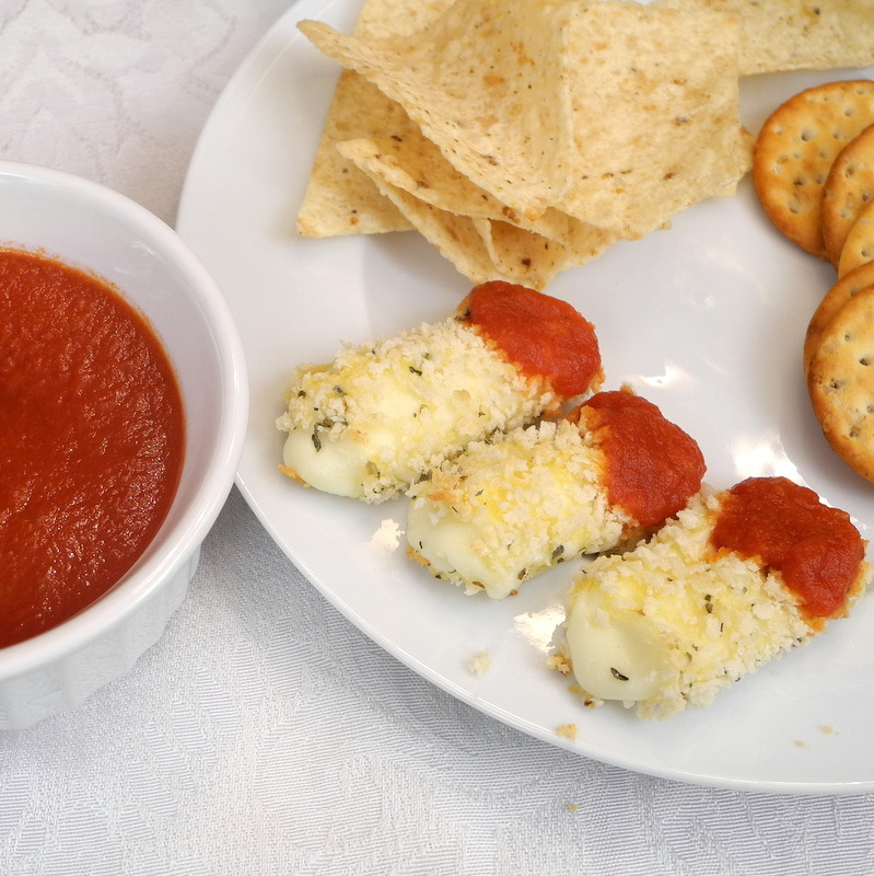 Baked Cheese Sticks