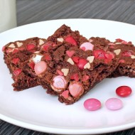 Valentine Brownies – A Valentine's Day Twist on My Grandmother's Brownie Recipe
