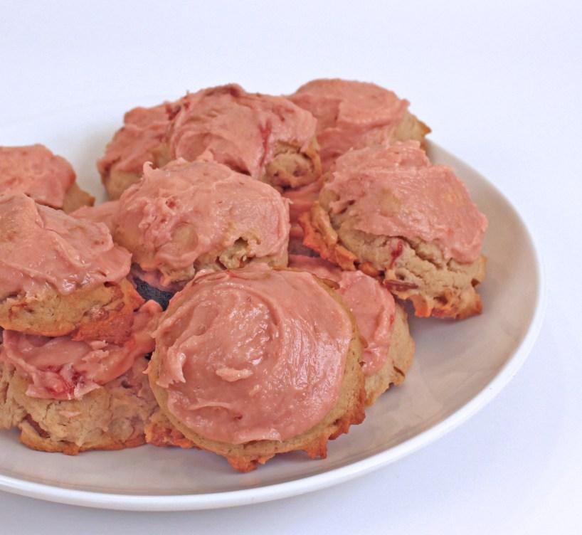 Strawberry Jam Cookies