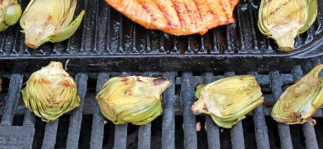 Grilled Baby Artichokes 2