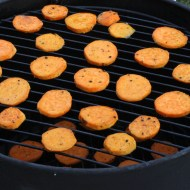 Smoked Sweet Potatoes