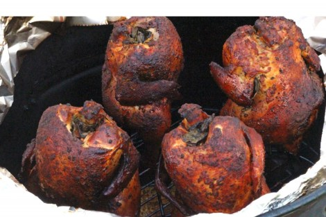 Smoked Cornish Hens