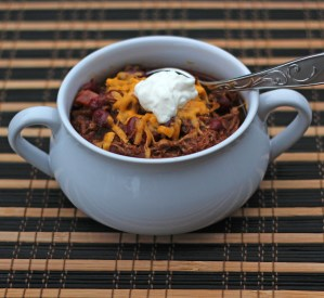 Slow Cooker Shredded Beef Chili
