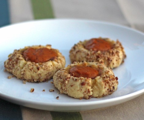 Pumpkin Thumbprint Cookies 2