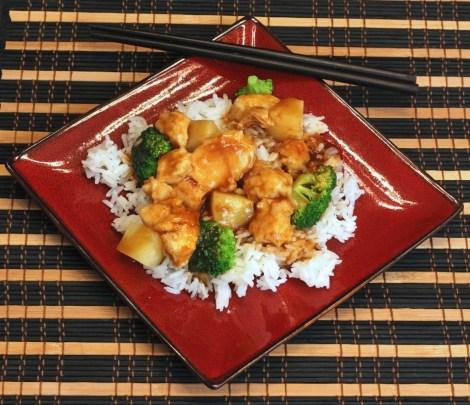 Lighter Asian Stir Fry
