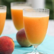 Peach Wine Slushie
