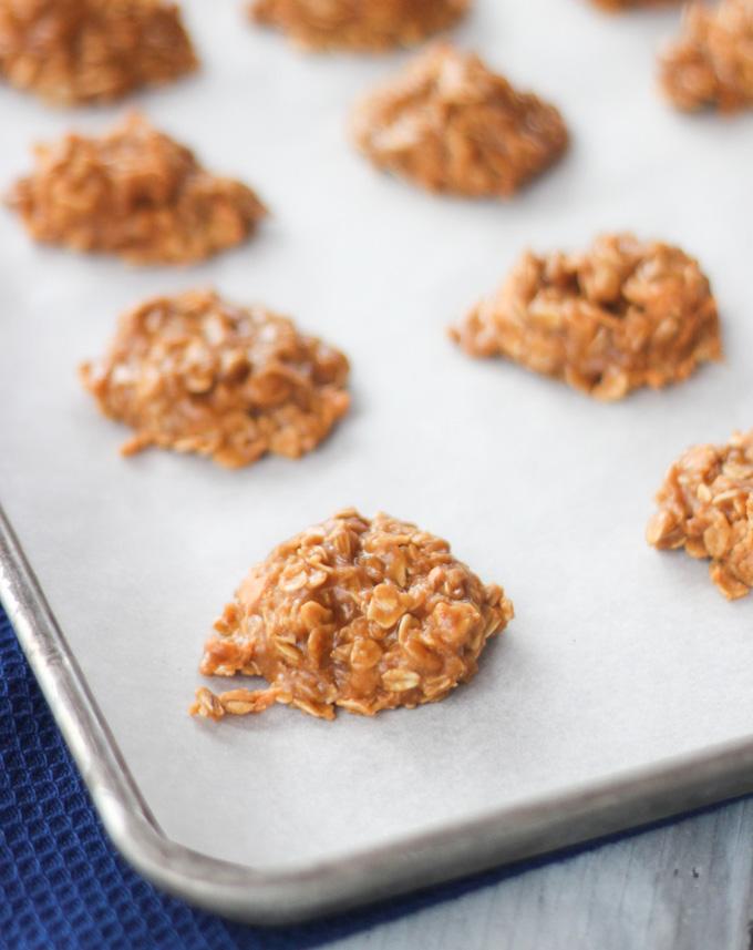 No Bake Butterscotch Cookies