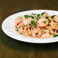 Buttery Shrimp Pasta