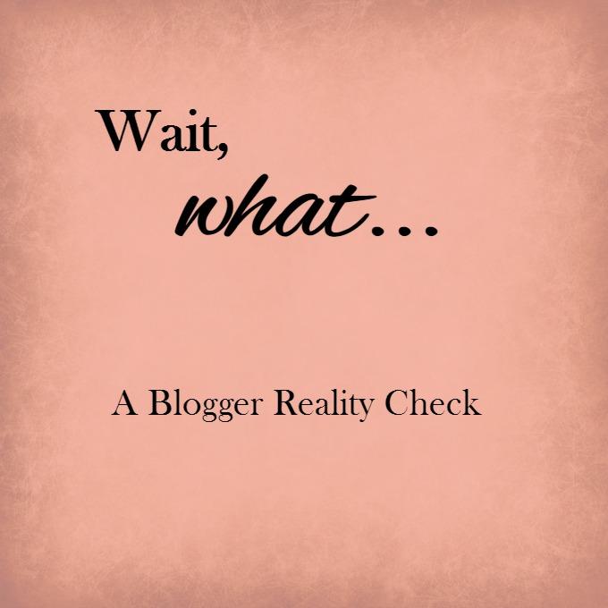 A Blogger Reality Check