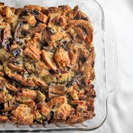 Mushroom and French Bread Dressing