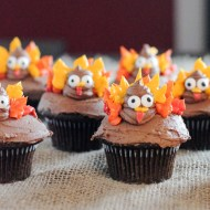 Easy Turkey Cupcakes
