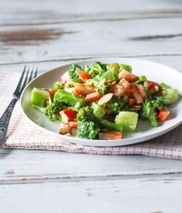 Broccoli Salad with Sesame Dressing