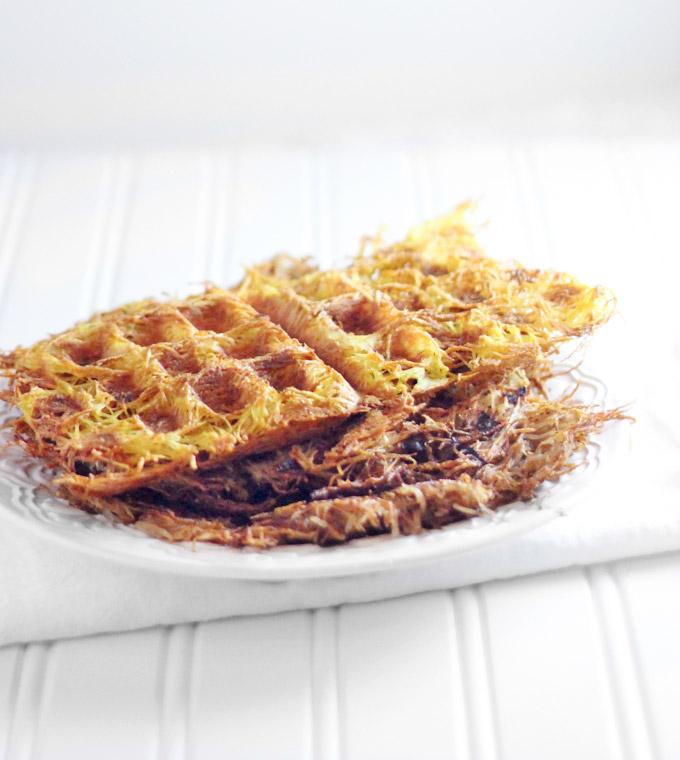 Waffle Iron Hashbrowns