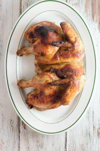 Spatchcocked Jerk Chicken