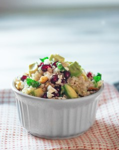 Pomegranate Quinoa Salad