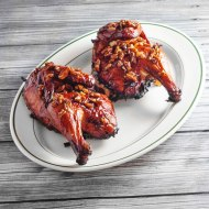 Bourbon Praline Grilled Chicken for Man Food Mondays
