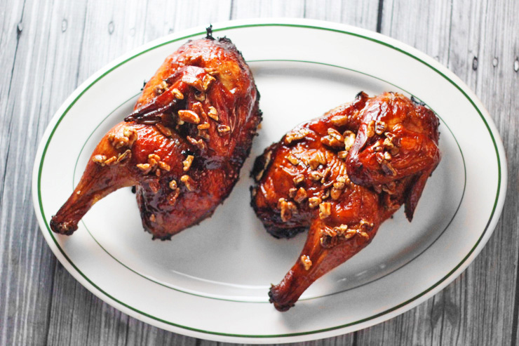 Bourbon Praline Grilled Chicken