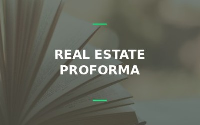 real estate proforma pro forma 101 pro forma rent
