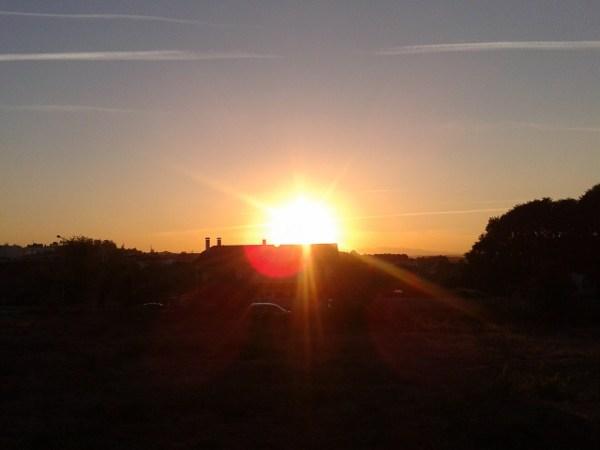 jog sun sets
