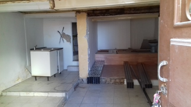 renovation of rental property guttered portugal