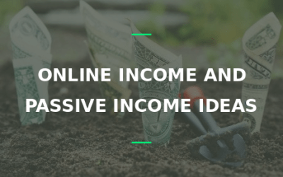 online and passive income ideas