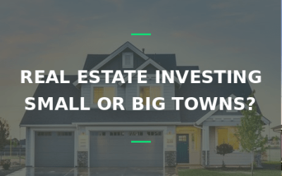 real estate big small towns
