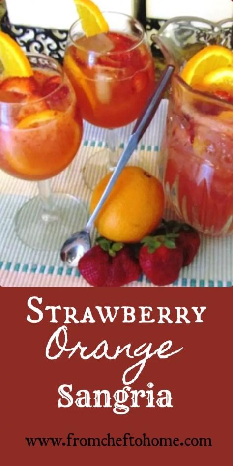 Strawberry Orange Sangria