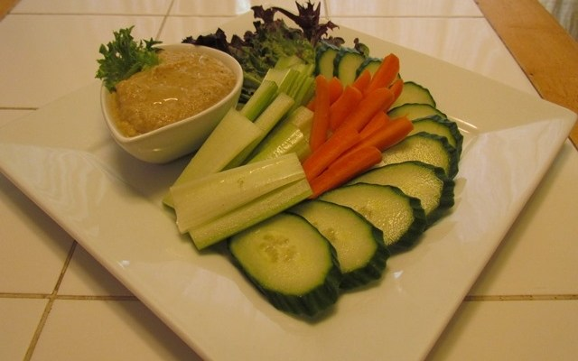 Low Carb Eggplant Hummus