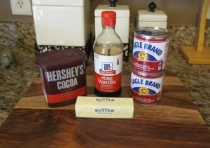 Brigadieros Ingredients