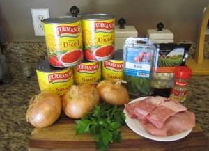 Sunday Ingredients