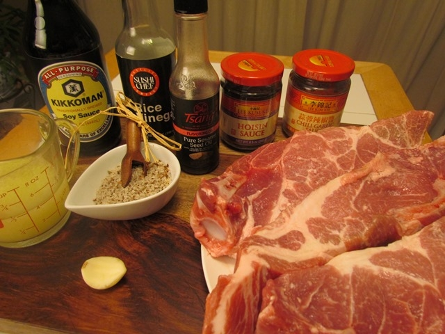 Chinese Roast Pork Ingredients