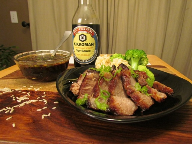 Chinese Style Roast Pork Dinner