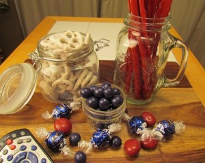 Red White and Blue Sweets