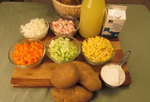Chowder Ingredients